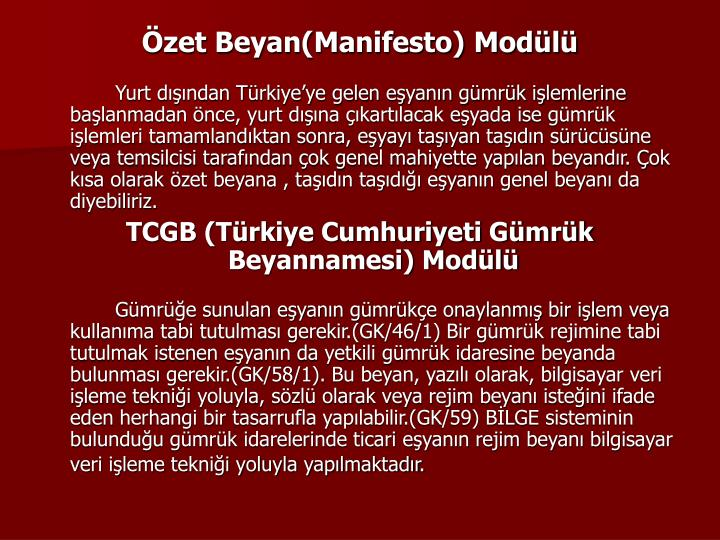 zet Beyan(Manifesto) Modl