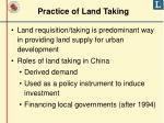 practice of land taking1