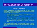 the evolution of cooperation4