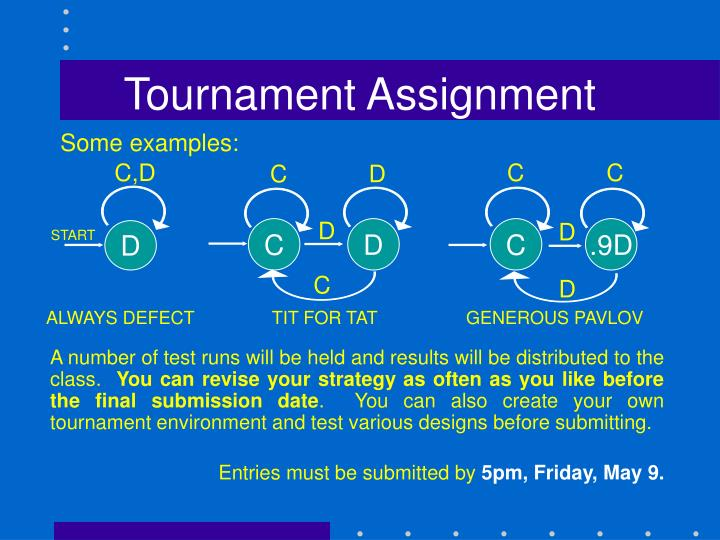 Tournament Assignment