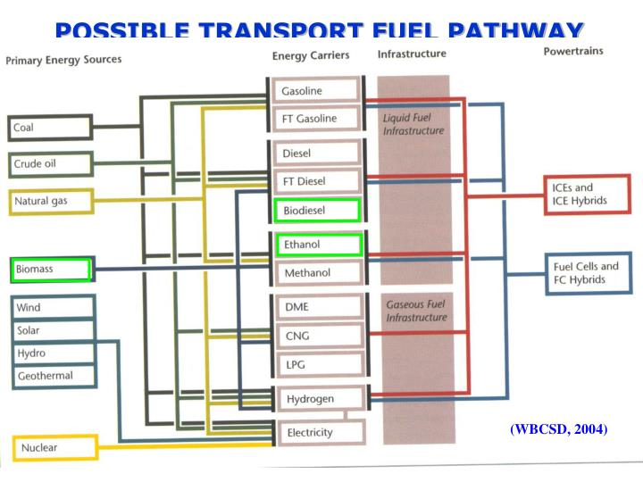 POSSIBLE TRANSPORT FUEL PATHWAY