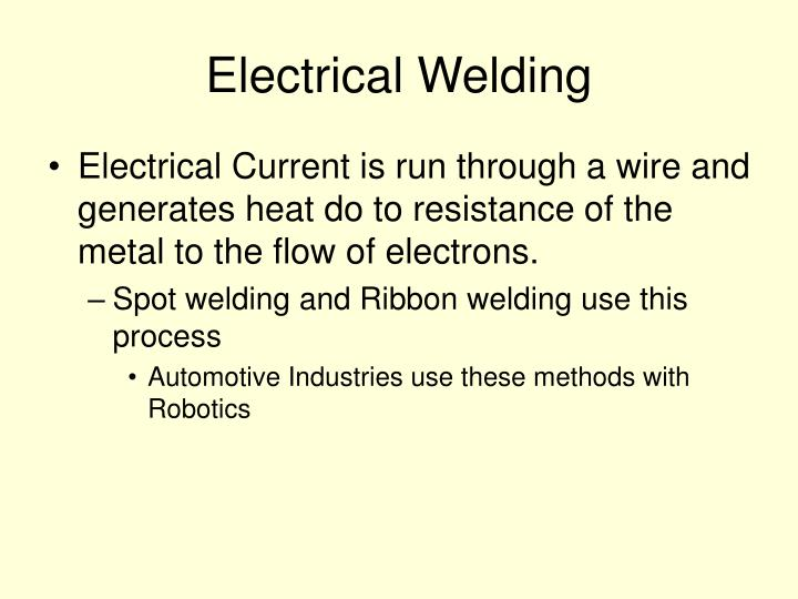 Electrical Welding