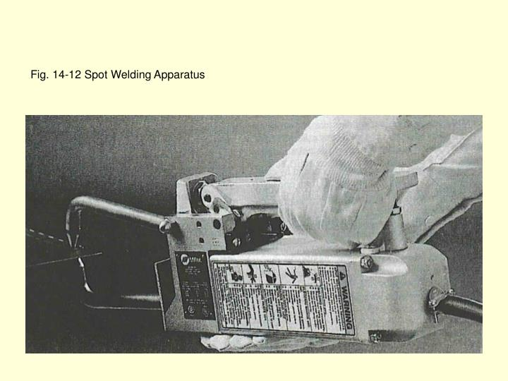 Fig. 14-12 Spot Welding Apparatus