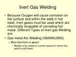 inert gas welding