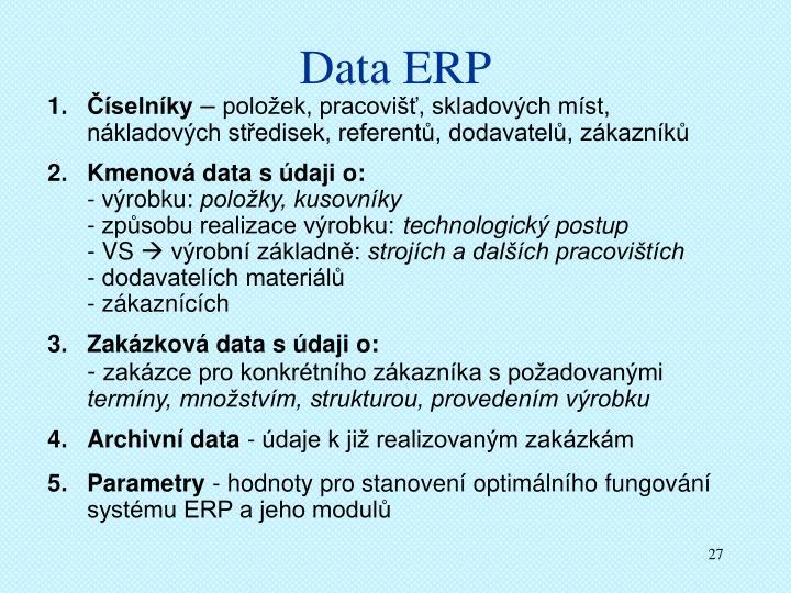 Data ERP