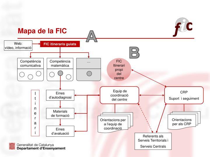Mapa de la FIC