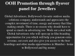 ooh promotion through flyover panel for jewellers1