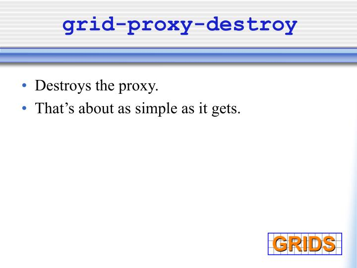 grid-proxy-destroy
