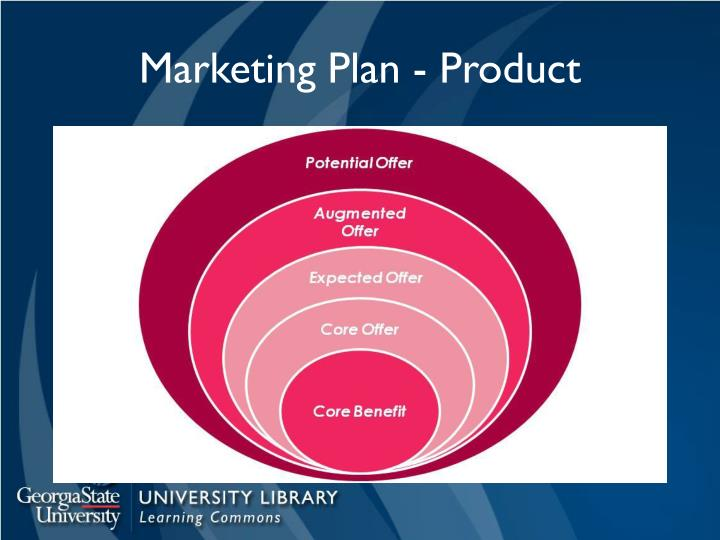 Marketing Plan - Product