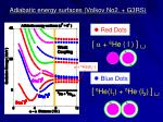 adiabatic energy surfaces volkov no2 g3rs