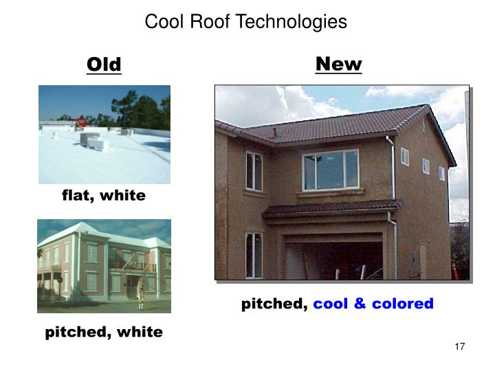 Cool Roof Technologies