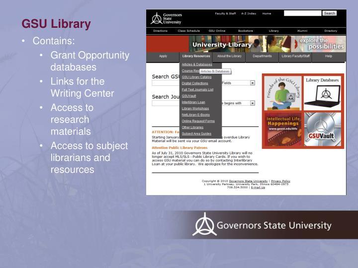 GSU Library