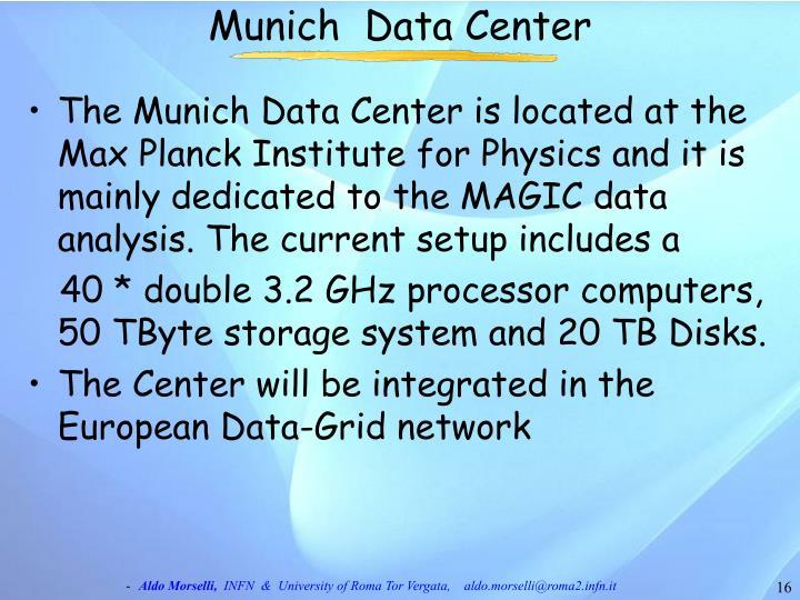 Munich  Data Center