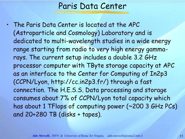 Paris Data Center