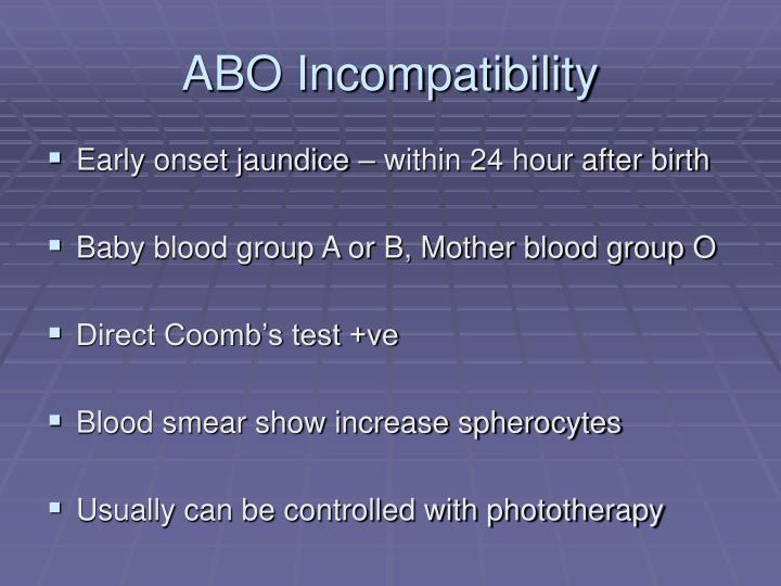 ABO Incompatibility