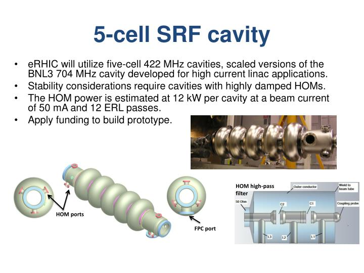 5-cell SRF cavity