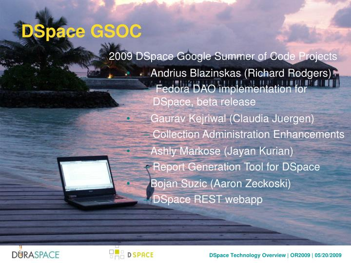 DSpace GSOC