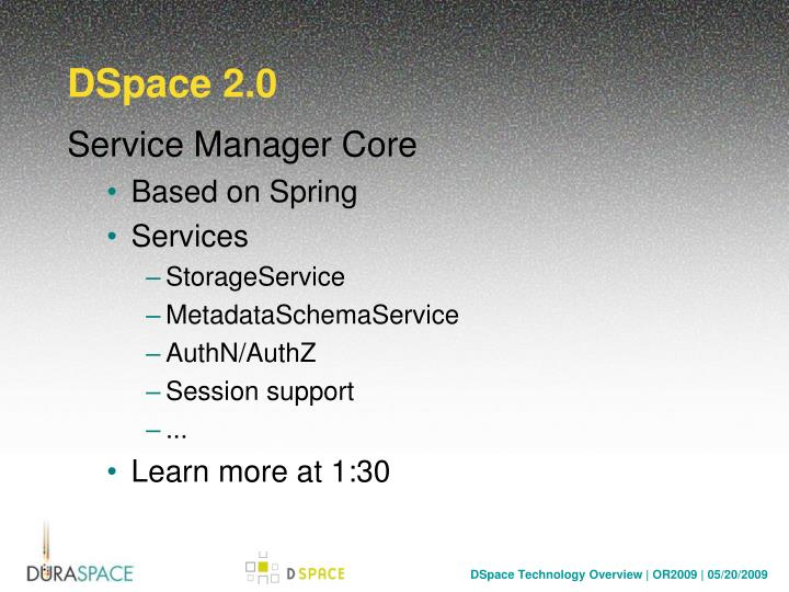 DSpace 2.0