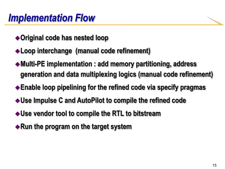 Implementation Flow