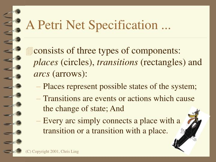 A Petri Net Specification ...
