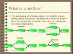 what is workflow