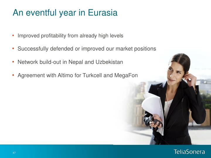 An eventful year in Eurasia