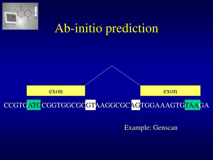 Ab-initio prediction