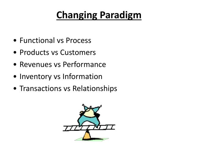 Changing Paradigm