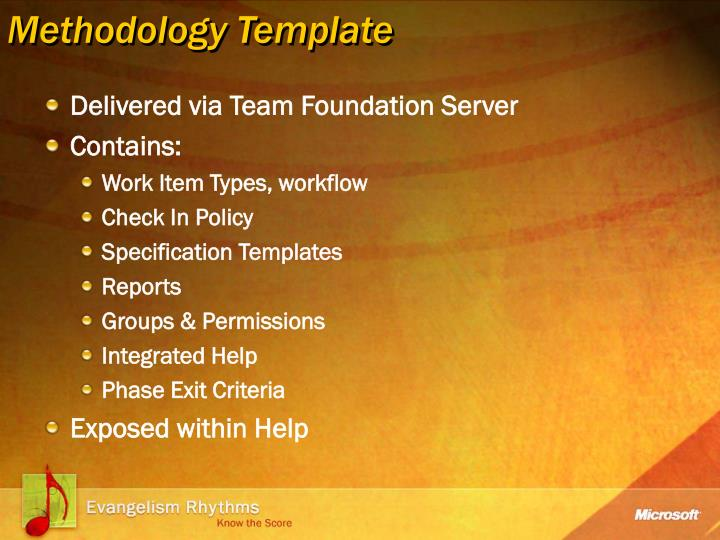 Methodology Template