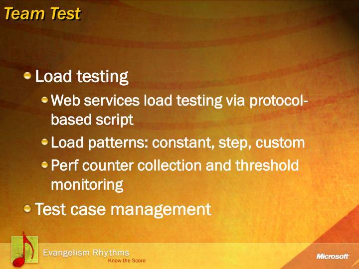 Team Test