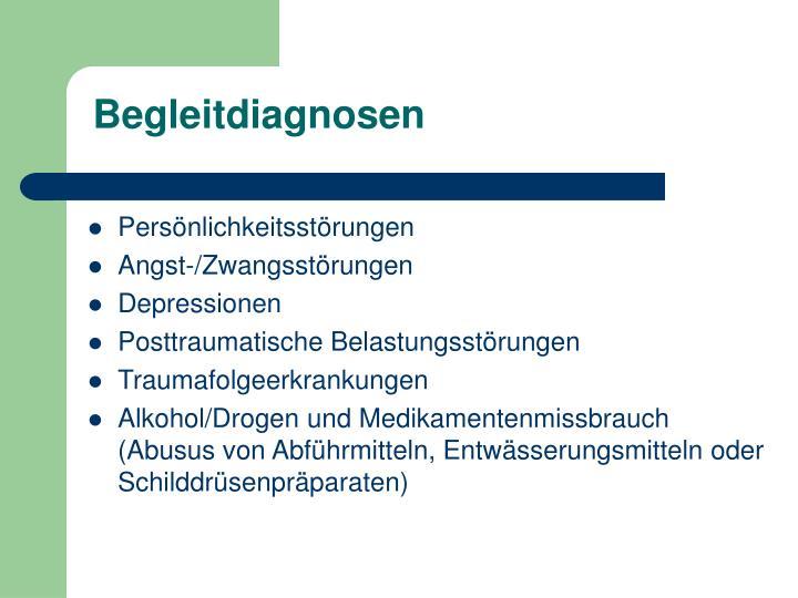 Begleitdiagnosen