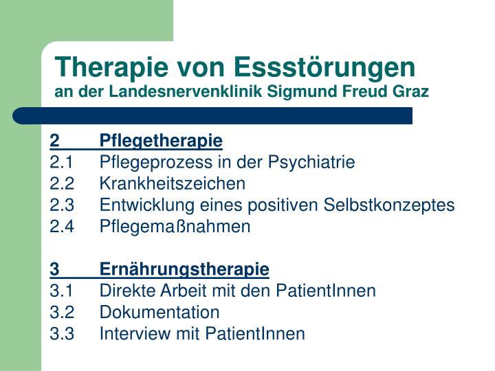 Therapie von Essstörungen