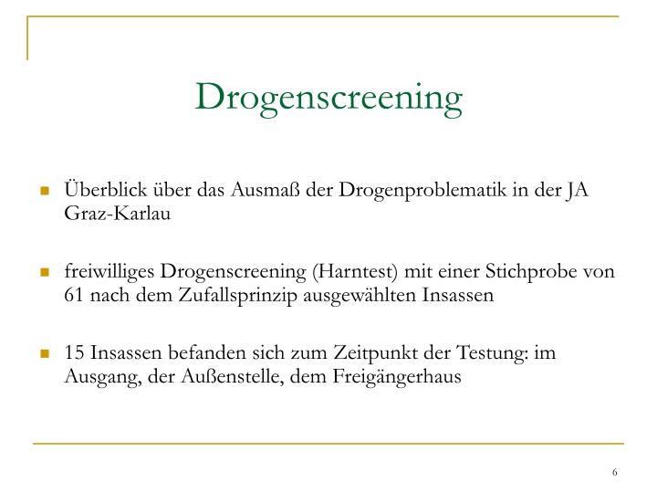 Drogenscreening