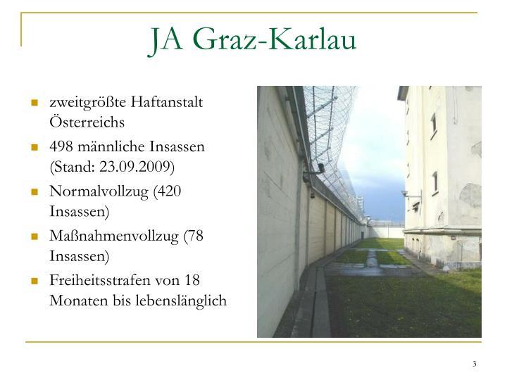 zweitgrößte Haftanstalt Österreichs