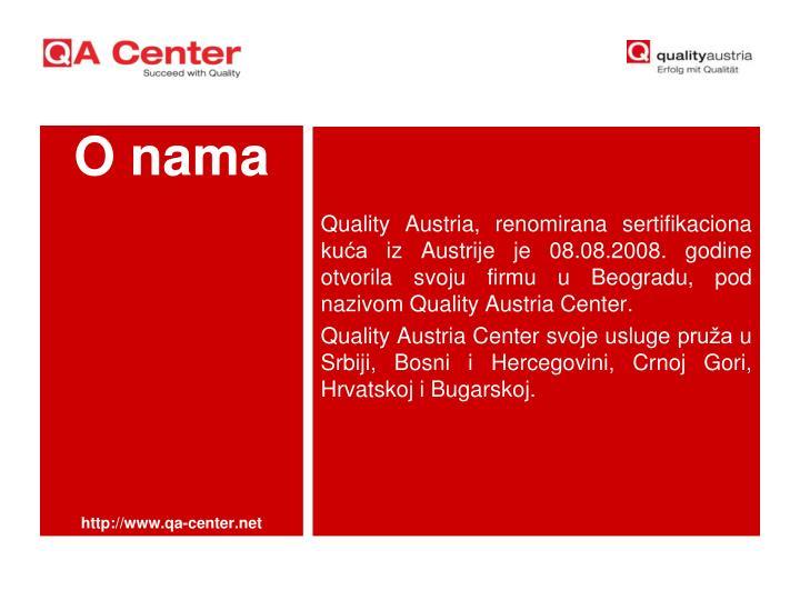 Quality Austria,