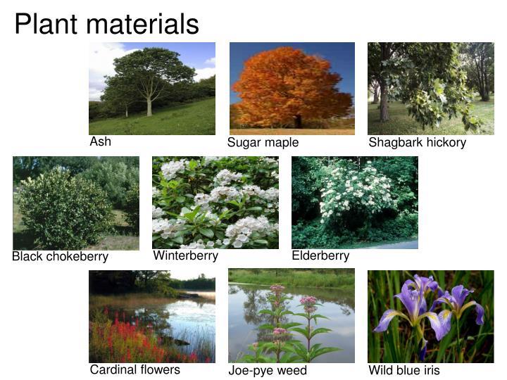Plant materials
