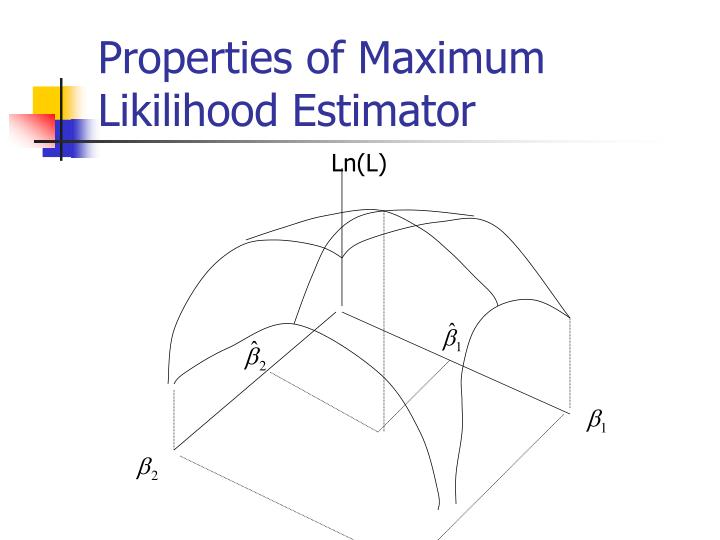 Properties of maximum likilihood estimator