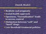 dutch model
