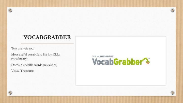 VOCABGRABBER