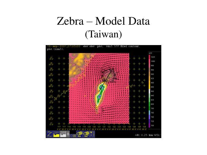 Zebra – Model Data