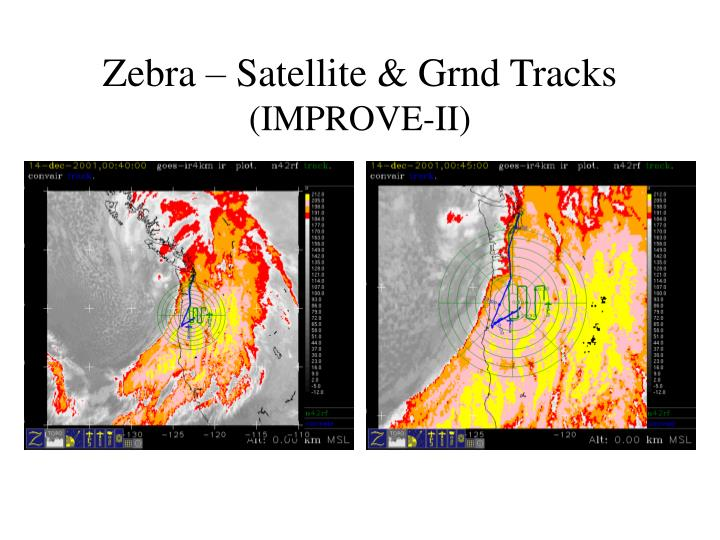 Zebra – Satellite & Grnd Tracks