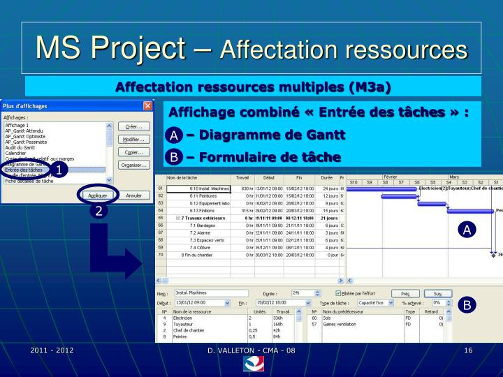 MS Project –
