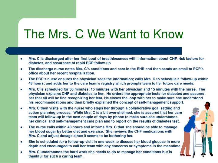 The Mrs. C We Want to Know
