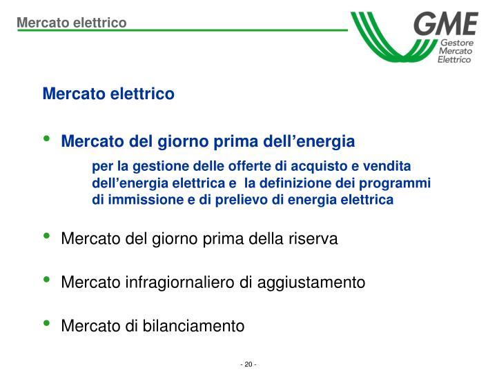 Mercato elettrico