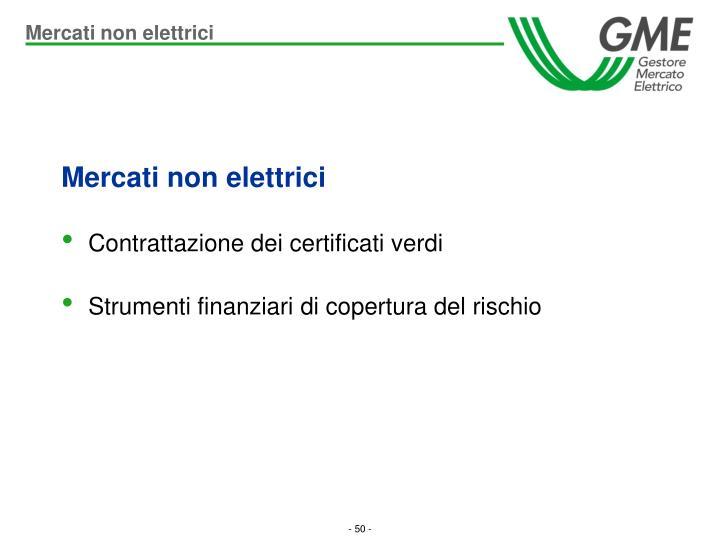 Mercati non elettrici