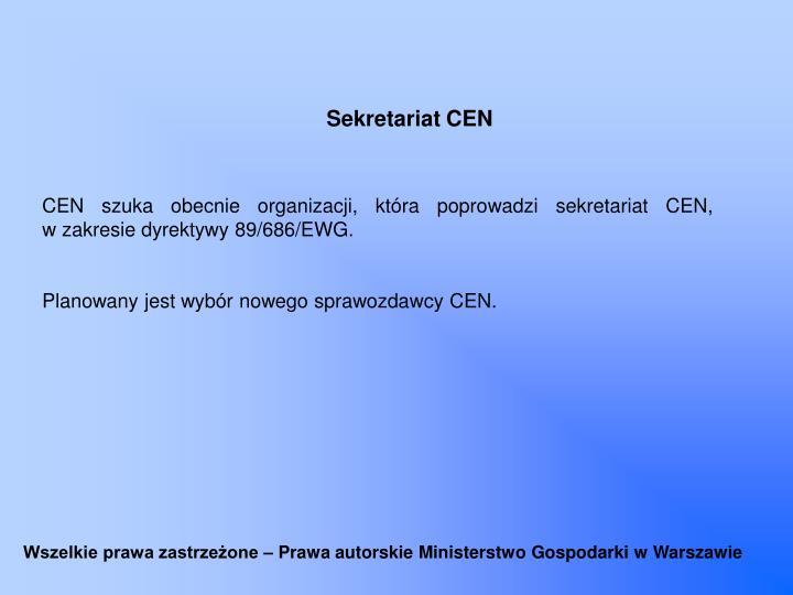 Sekretariat CEN