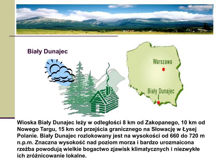 Biały Dunajec