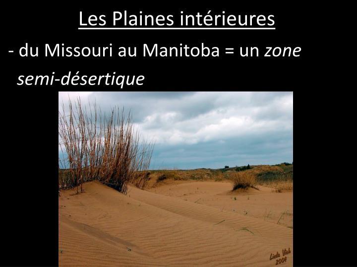 Les Plaines intérieures