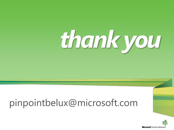 pinpointbelux@microsoft.com