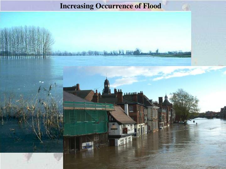 Increasing Occurrence of Flood